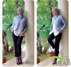 Gaya Hijab Stylish Okky Asokawati
