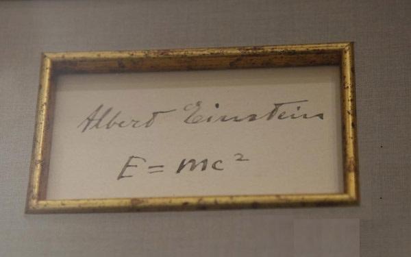 Tulisan Tangan Einstein