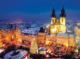 Prague Square, ibu kota Republik Ceko.