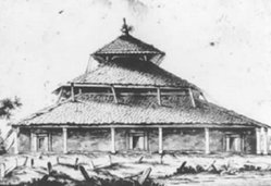 Masjid Agung Demak tahun 1801