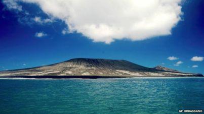 Pulau baru di Tonga