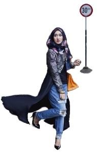 paduan jeans hijab