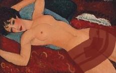 Amedeo Modigliani, Nu couché2,