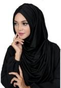 Hijab hitam dan hitam